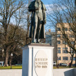 Stock Photo: Monument to Friedrich Schiller