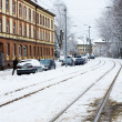 Winter Street of Kaliningrad — Stock Photo #38971567