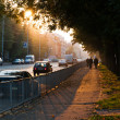 Evening streets of Kaliningrad — Stock Photo #38971781