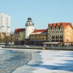 Fish Village. Kaliningrad. Russia — Stock Photo #38971817