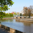 River Pregel in Kaliningrad — Stock Photo #38972429