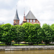 Kant's cathedral. Kaliningrad, Russia — Stock Photo