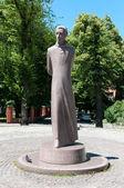 Monument to Liudvikas Reza (Ludwig Reza) in Kaliningrad. Russia — Stock Photo