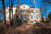Abandoned German mansion. Kaliningrad — Stock Photo