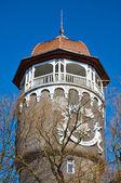 Turm von Municipal Wasserheilanstalt. Kaliningrader Gebiet, Russland — Stockfoto