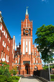 Church of the Holy Family in Kaliningrad. Russia — Stock Photo