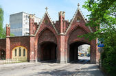 Brandenburg Gate. Kaliningrad — Stock Photo