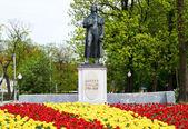 Statue of Johann Christoph Friedrich von Schiller — Stock Photo