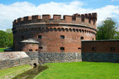 Old military fortification. Kaliningrad — Stock Photo