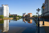 Fish Village. Kaliningrad. Russia — Stock Photo