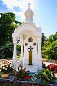 The memorial chapel of St. George. Kaliningrad — Stock Photo