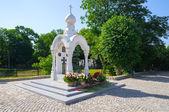 La capilla memorial de san jorge. kaliningrado — Foto de Stock