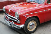 MOSKVICH 402 Soviet car — Stock Photo