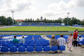 "Festivities at the stadium ""Baltika"" on the day of the city of Kaliningrad — Stock Photo"