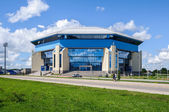 "Palace of Sports ""Amber"" in Kaliningrad, Russia — Stock Photo"