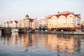 Ethnographic and trade center. Kaliningrad — Stock Photo