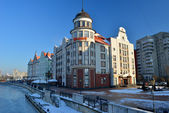 Embankment of the Fishing Village. Kaliningrad, Russia — Stock Photo