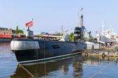 Old Russian submarine B-413 — Stock Photo