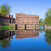 Old german military fortification. Kaliningrad — Stock Photo