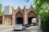 The Brandenburg Gate. Kaliningrad — Stock Photo