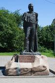 Monument to the great Russian commander Mikhail Kutuzov. Kaliningrad — Stock Photo