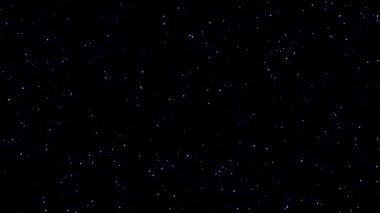 Blinkande stjärnor — Stockvideo