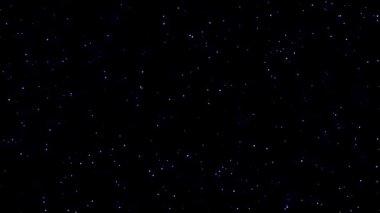 Třpytící hvězdy — Stock video