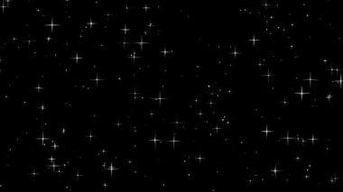 Twinkling stars — Stock Video