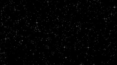 Twinkling stars — Video Stock