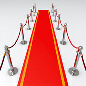 Red carpet — Stockfoto