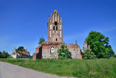 Ruins of a Gothic church — Stock Photo