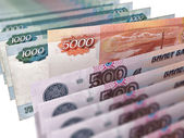 Russian currency  — Stock Photo
