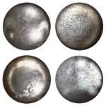 Steel rivet heads — Stock Photo #48758187
