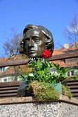 Monument to Frederic Chopin — Stock Photo