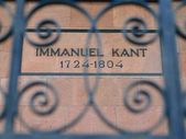 Tomb of  German philosopher Immanuel Kant — Stock Photo