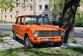 Aged soviet car VAZ 2101 — Stock Photo