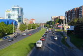 Kaliningrad. Moskovsky Prospect — Stock Photo