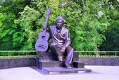 Monument of  Vladimir Vysotsky — Stock Photo