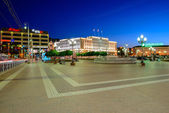 Victory (Pobedy) square in Kaliningrad — Stock Photo