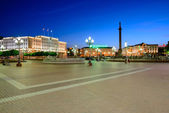 Victory (Pobedy) square in Kaliningrad — Photo