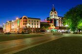 Victory (Pobedy) square in Kaliningrad — Stock Photo