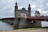 Queen Louise Bridge. Sovietsk — Stockfoto