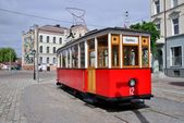 Monument of Tilzit tram — Stock Photo
