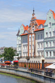 Ethnographic and trade center. Kaliningrad — Stock Photo