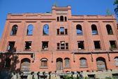 Ruined castle mill in Zheleznodorozhny — Stock Photo