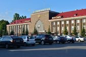 Yuzhny station in Kaliningrad — Stock Photo