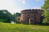 Defensive tower Dona. Kaliningrad — Stock Photo