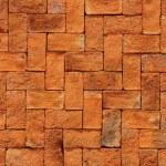 Texture of orange brick — Stock Photo #11948109