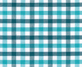 Blue and white tablecloth — Stock Photo