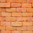 Orange brick wall — Stock Photo